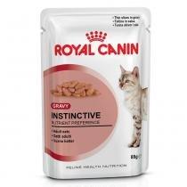Ração Royal Canin Sachê Instinctive para gatos adultos - 85 gr -