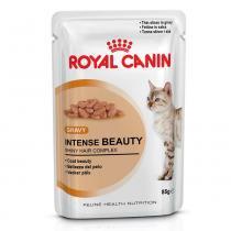 Ração Royal Canin Sachê Intense Beauty para gatos adultos - 85 gr -