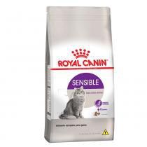 Ração Royal Canin Sensible para gatos adultos com sensibilidade digestiva ou apetite exigente - 7,5 kg -