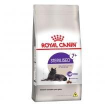 Ração Royal Canin Sterilised 7+ para gatos castrados a partir de 7 anos de idade - 7,5 kg -