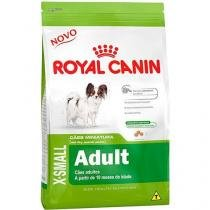 Ração royal canin x-small adult para cães adultos - 1kg -