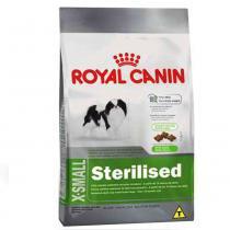 Ração Royal Canin X small Sterilised para cães adultos castrados de porte miniatura - 1 kg -