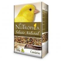 Ração Seleção Natural Nutrópica Canário 300 gr - Nutrópica