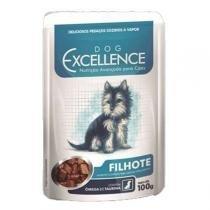 Ração Selecta Dog Excellence Sachê Filhote -