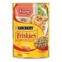 Ração Úmida Friskies Sachê Frango ao Molho 85 gr - Nestlé Purina