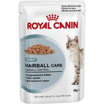 Ração Úmida Royal Canin Feline - Gatos Adultos Sachê Hairball Care - 85g -