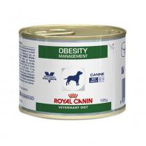 Ração Úmida Royal Canin Lata Canine Veterinary Diet Obesity Management Wet - 195 g -