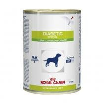 Ração Úmida Royal Canin Lata Veterinary Diabetic Special Low Carbohydrate Cães Adultos 410 g -