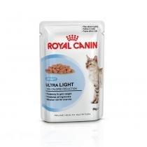 Ração Úmida Royal Canin Sachê Ultra Light - Gatos Adultos - 85 g -