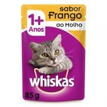 Ração Whiskas Sachê Frango para Gatos Adultos -