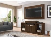 """Rack 2 Portas com Painel para TV de até 42"""" - Multimóveis Veneza 2639.133"""