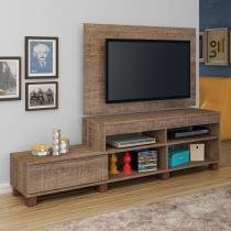 Rack com Painel para TV 1.8 Ever Canela - Artely