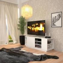 Rack Lumini Branco 135 cm - Multivisão