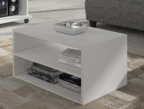 Rack Multifuncional Versátile com 155 cm Branco - HB Móveis - Branco/Branco - HB Móveis