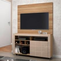 Rack painel para tv até 42 polegadas dj móveis américa - Teka TX com Vanilla Perolizado -