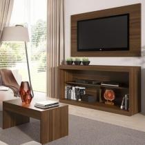 """Rack para TV até 47"""" com Mesa de Centro e Painel - Multimóveis Inovare"""