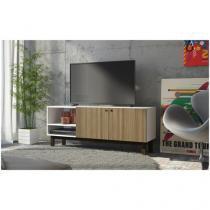 """Rack para TV até 48"""" 2 Portas BRV Móveis - Wood BPI 41-149"""