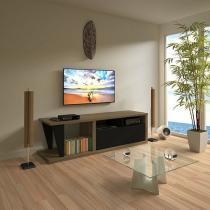 """Rack para TV até 56"""" 1 Basculante Multivisão - Fusion"""