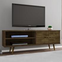 Rack para TV Até 60 Onix Rústico - Móveis bechara
