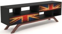 Rack Reino Unido 2 Portas de Correr Impressa 1,60 MT - 32735 - Sun House