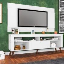Rack Retrô com Painel para TV 1,80m CJ023 Art in Móveis -