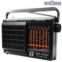 Rádio 7 Faixas RM-PFT73AC - Motobras - Motobras