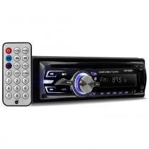 Rádio automotivo player dazz dz-65895bt cd mp3 player usb am fm bluetooth - Dazz