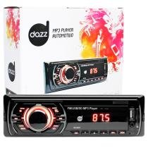 Rádio automotivo player dazz mp3 player usb auxiliar frontal - Dazz