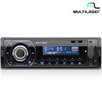 Rádio Automotivo Talk Com Bluetooth Mp3, FM, SD, Aux. P3214 - Multilaser - Multilaser