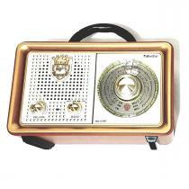Rádio Caixa De Som Bluetooth Portátil Retro USB Vintage Recarregável - Ministar