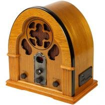 Rádio Capelinha com Entrada USB e SD Card AM/FM - Ribeiro e Pavani