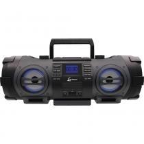 Rádio com CD, MP3, FM, Potência 100WRMS, Bluetooth, Entradas USB e Auxiliar Lenoxx BD-1501 Preto -