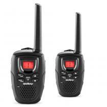Rádio Comunicador Intelbras RC 5002 2UN Preto USB 26 Canais -