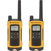 Rádio Comunicador Talkabout 35Km Amarelo T400br Motorola -
