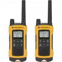 Radio comunicador talkabout 35km t400br amarelo motorola -