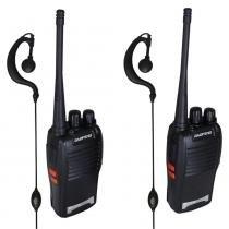 Radio Comunicador Walk Talk Baofeng Bf-777s 2 Peças + Fone - Bk imports