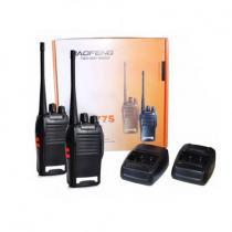 Radio comunicador walk talk baofeng bf-777s + fone de ouvido - Baofeng