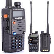 Radio Ht Dual Band(uhf+vhf) Baofeng Uv-5ra + Fone Pronta Ent - Bk imports