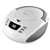 Radio lenoxx bd112 am fm com cd player e entrada auxiliar (7897181951121) -