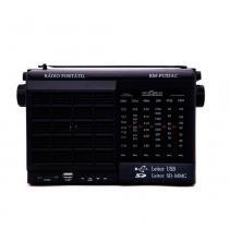 Rádio Motobrás 6 Faixas AM FM OC com USB SD CARD RM-PU32AC - Motobras