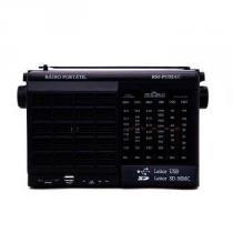 Radio Motobras 6 Faixas  USB/SD AM/FM/OC  - RM-PU32AC -