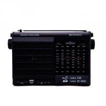 Radio Motobras 6 Faixas  USB/SD AM/FM/OC  - RM-PU32AC - Generico