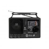 Rádio Motobrás 8 Faixas FM OC com USB RM-PUSM81AC -