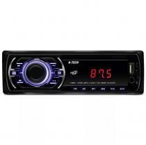 Rádio mp3 player automotivo  h-tech hmp-1000 1 din com usb sd aux rca fm -