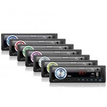 Rádio MP3 Player Multilaser Wave Fiesta - USB - Auxiliar - Cartão SD -