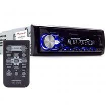 Rádio MP3 Player Pioneer MVH-X288FD - Alta Potência - USB - Aux -