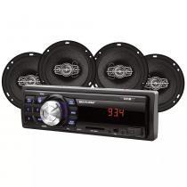 Rádio New One + 2 AF 6 Quad 60W RMS + 2 AF 5 Quad 50W - Grid