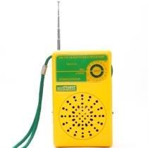 Rádio Portátil 2 Faixas Am Fm Dunguinha Rm-Pf26 Motobras - Motobras