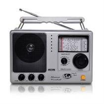 Rádio Portátil Am Fm 12 Faixas Rm-Pf121ac Motobras -