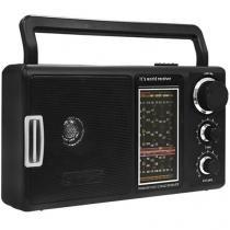 Rádio Portátil AM/FM 12 Faixas RP-69 - Lenoxx